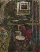 Paintings by the artist Evelyn Dunbar